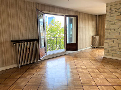 PARIS 20 - PTE DE BAGNOLET - 3 PIECES, BALCON, CAVE, PARKING